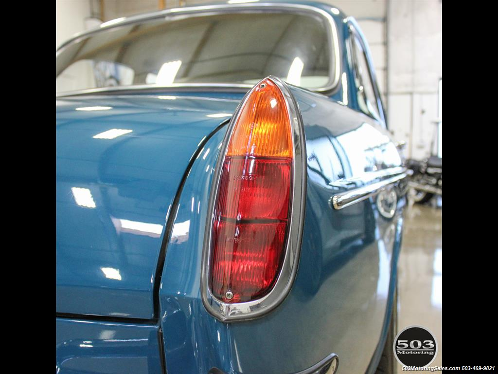 1965 Volkswagen Notchback Collector Quality Example in Sea Blue - Photo 17 - Beaverton, OR 97005