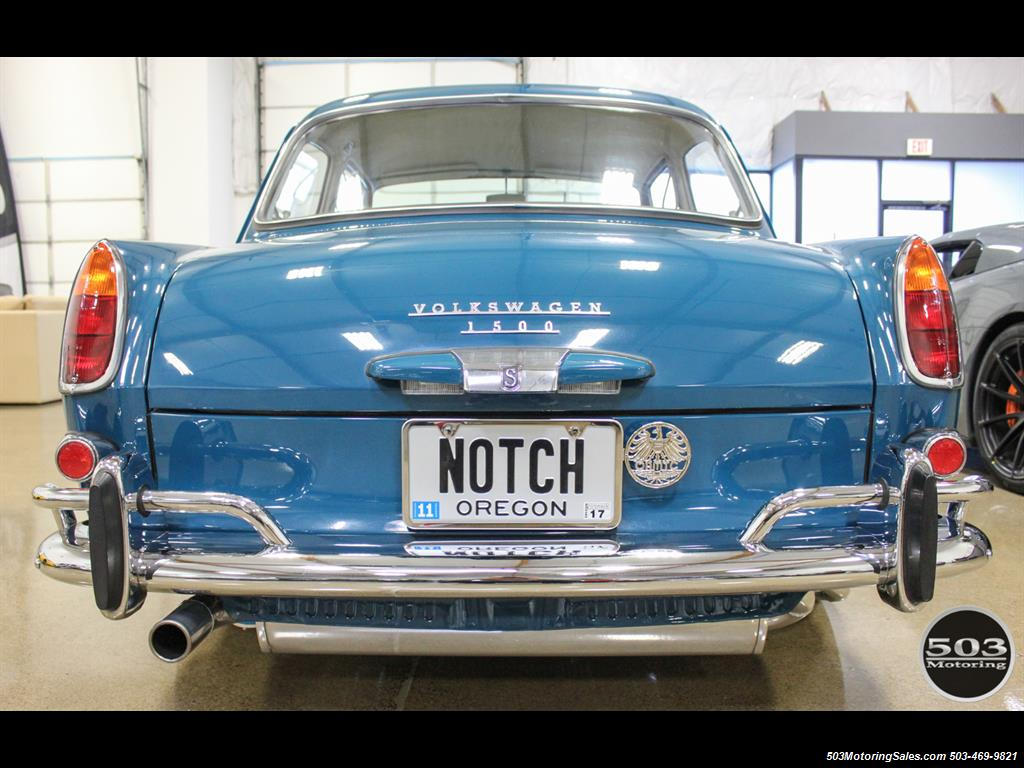 1965 Volkswagen Notchback Collector Quality Example in Sea Blue - Photo 4 - Beaverton, OR 97005