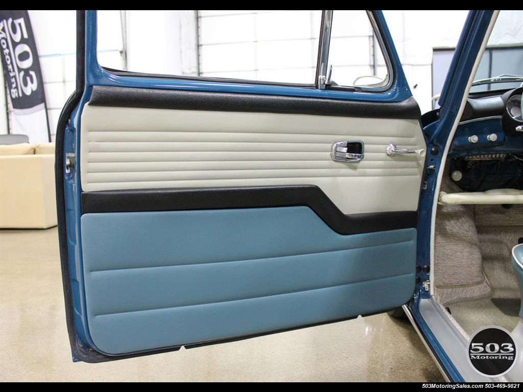 1965 Volkswagen Notchback Collector Quality Example in Sea Blue - Photo 30 - Beaverton, OR 97005