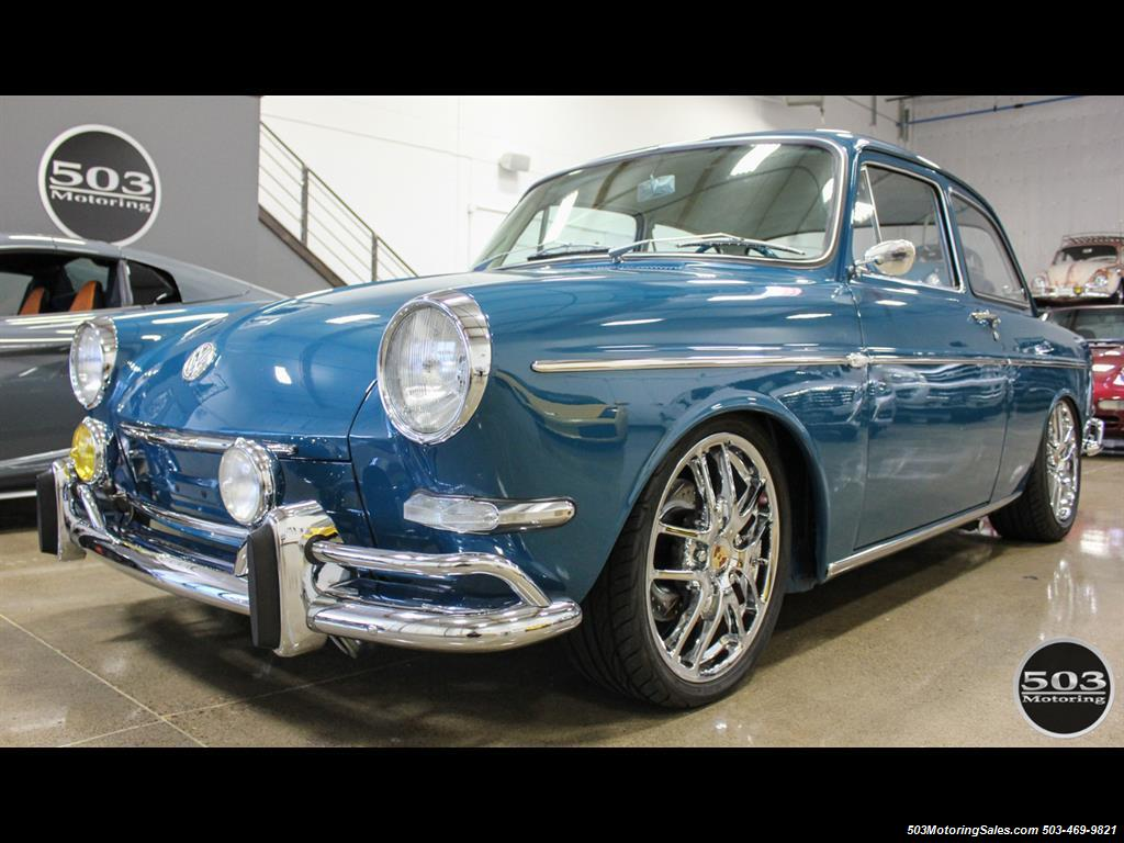 1965 Volkswagen Notchback Collector Quality Example in Sea Blue - Photo 1 - Beaverton, OR 97005