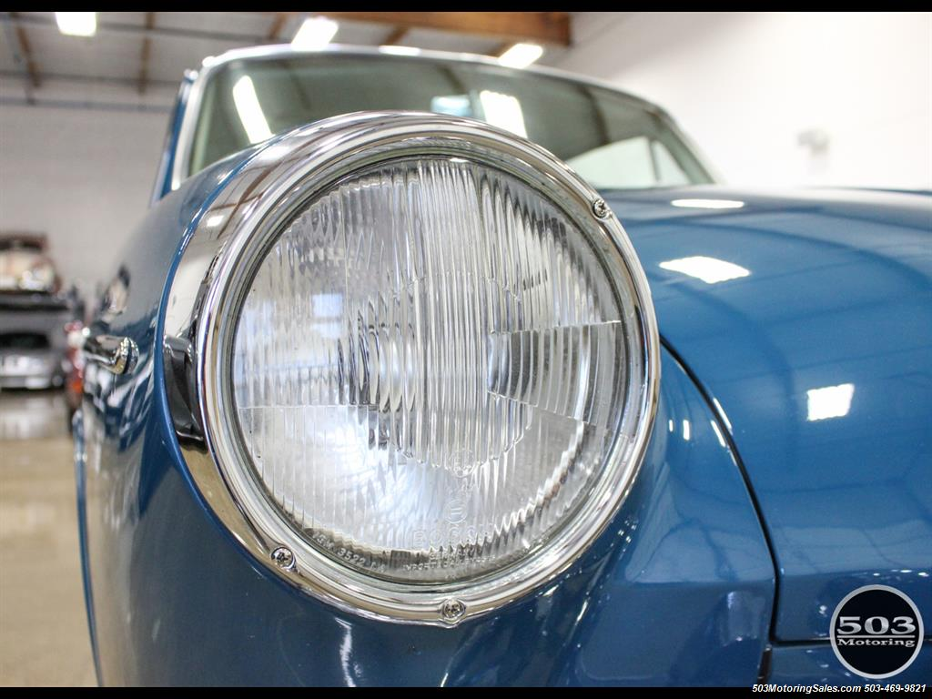 1965 Volkswagen Notchback Collector Quality Example in Sea Blue - Photo 13 - Beaverton, OR 97005