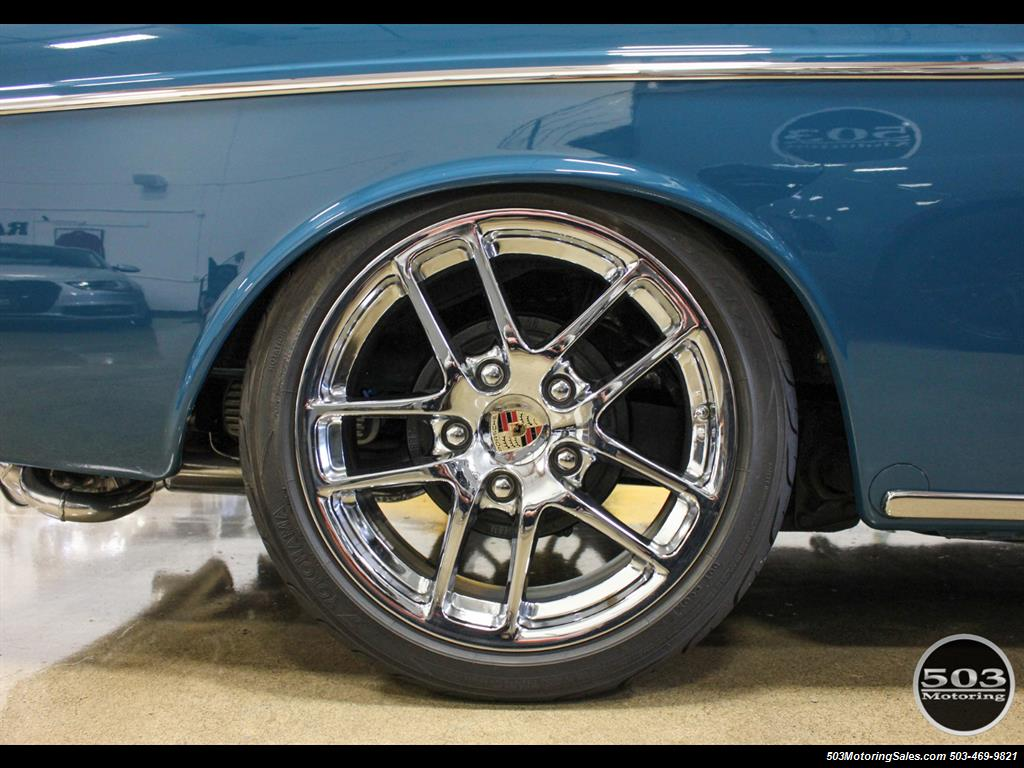 1965 Volkswagen Notchback Collector Quality Example in Sea Blue - Photo 50 - Beaverton, OR 97005