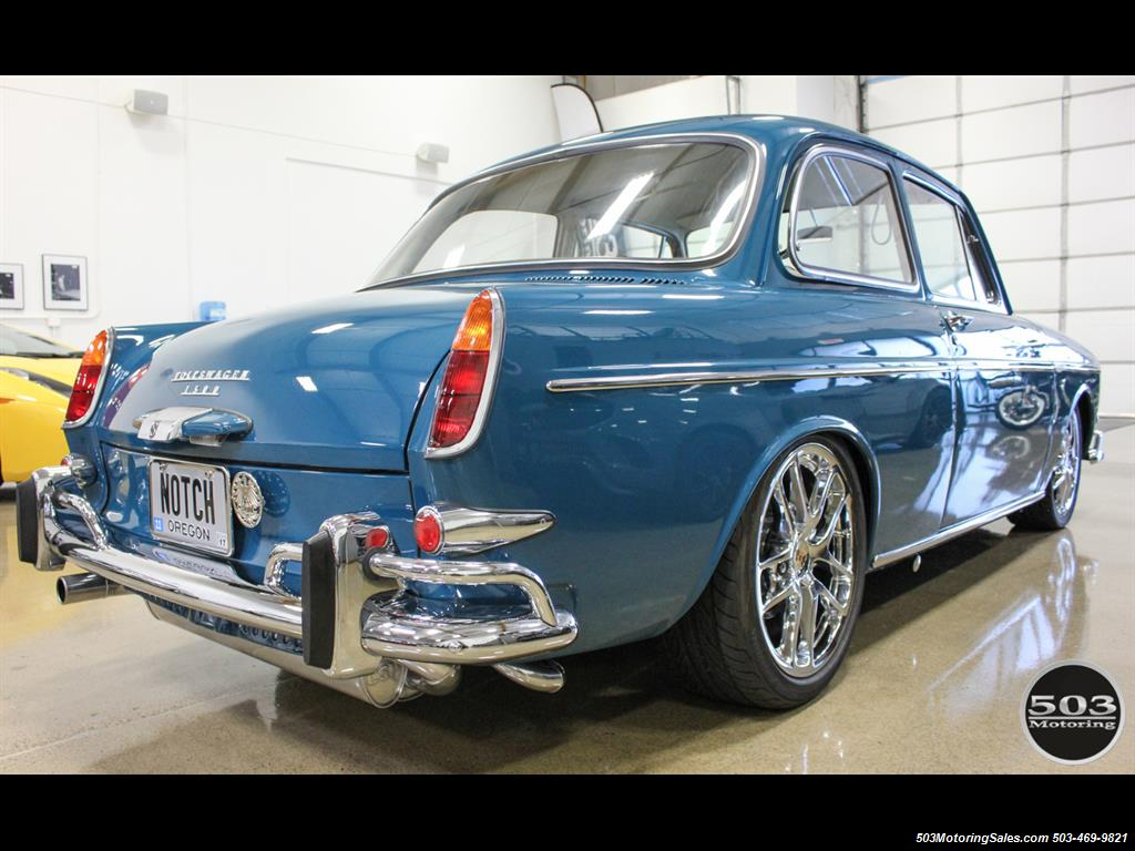 1965 Volkswagen Notchback Collector Quality Example in Sea Blue - Photo 5 - Beaverton, OR 97005