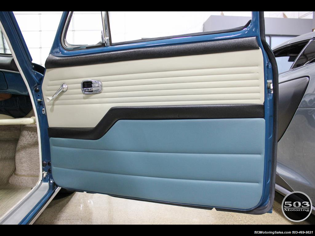 1965 Volkswagen Notchback Collector Quality Example in Sea Blue - Photo 29 - Beaverton, OR 97005