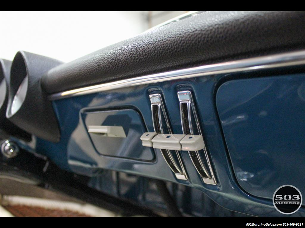 1965 Volkswagen Notchback Collector Quality Example in Sea Blue - Photo 34 - Beaverton, OR 97005