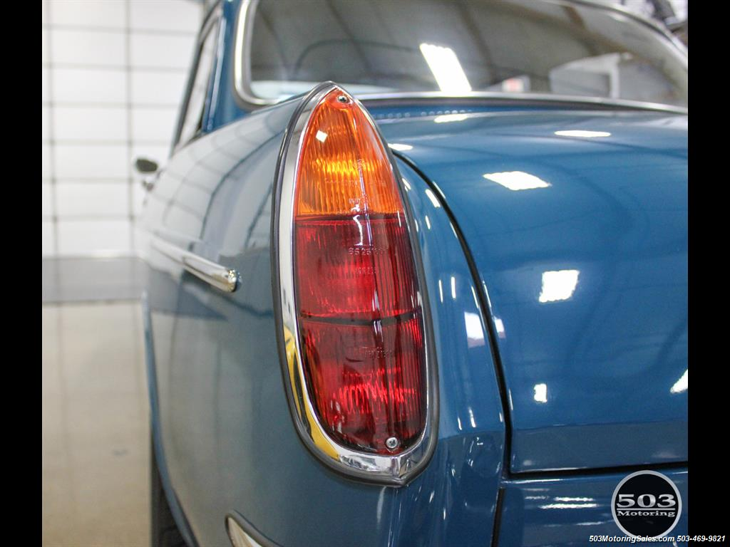 1965 Volkswagen Notchback Collector Quality Example in Sea Blue - Photo 16 - Beaverton, OR 97005