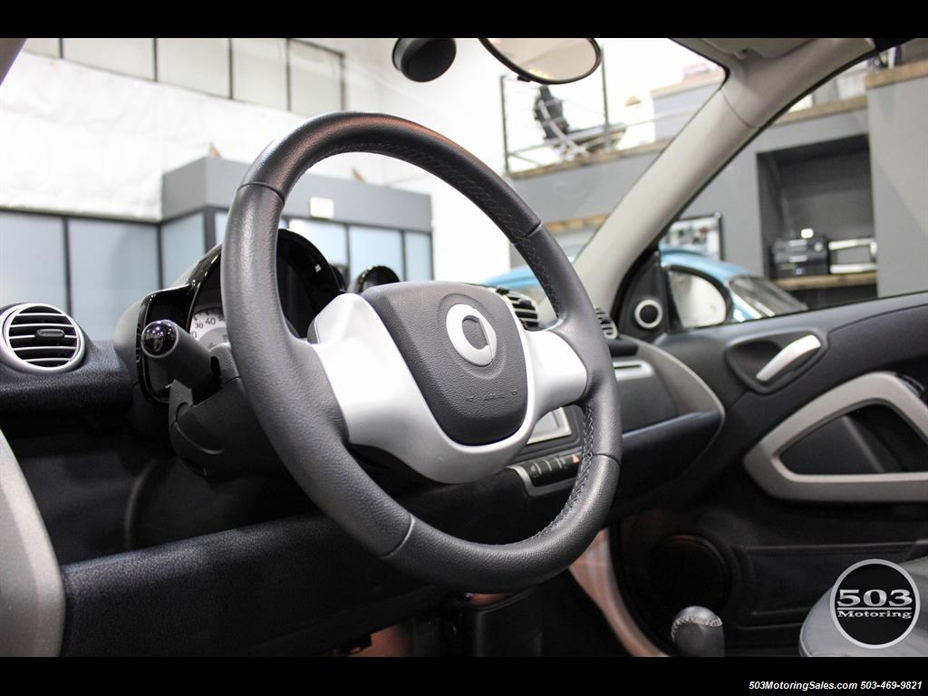 2014 Smart fortwo passion electric cabriolet; White/Black, Loaded! - Photo 28 - Beaverton, OR 97005