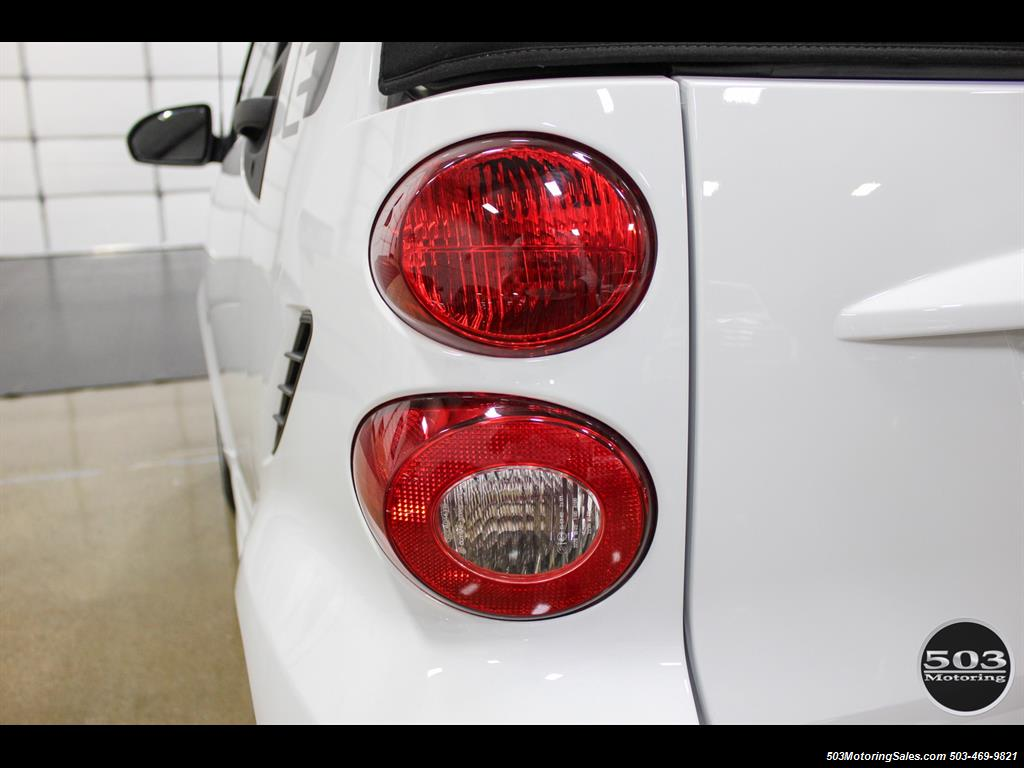 2014 Smart fortwo passion electric cabriolet; White/Black, Loaded! - Photo 18 - Beaverton, OR 97005