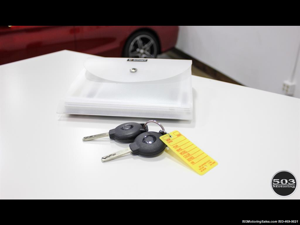 2014 Smart fortwo passion electric cabriolet; White/Black, Loaded! - Photo 46 - Beaverton, OR 97005