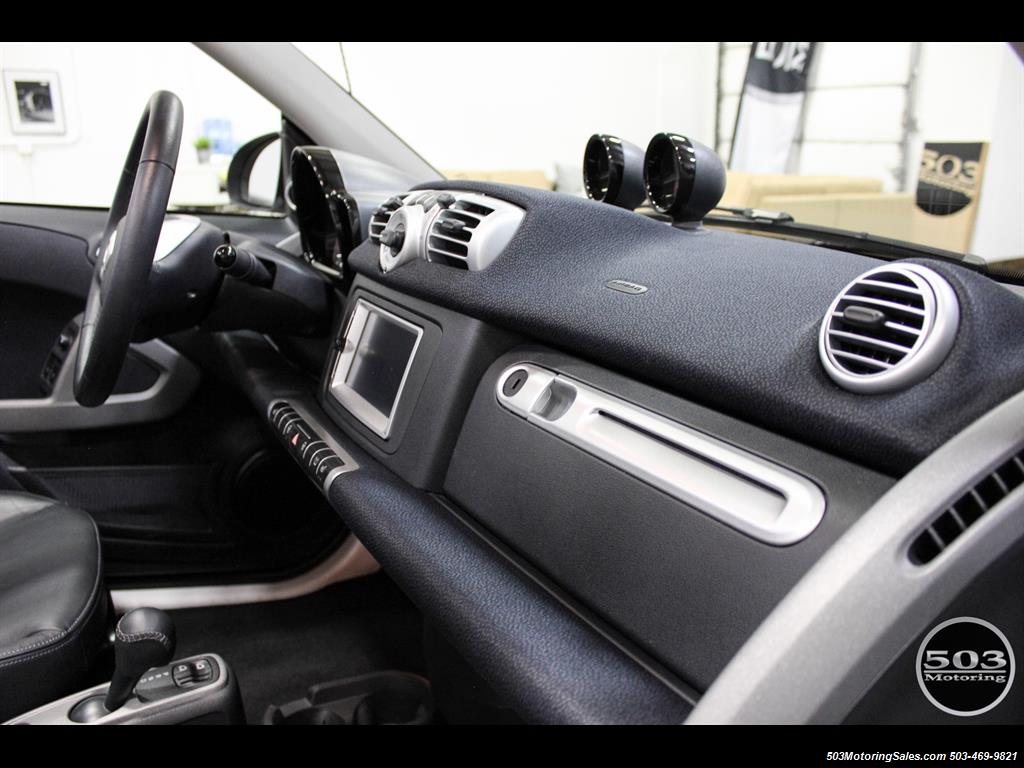 2014 Smart fortwo passion electric cabriolet; White/Black, Loaded! - Photo 39 - Beaverton, OR 97005
