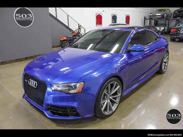 Check Engine Size By Vin Number >> 2015 Audi RS 5 4.2 quattro, Sepang Blue w/ Only 4900 Miles!