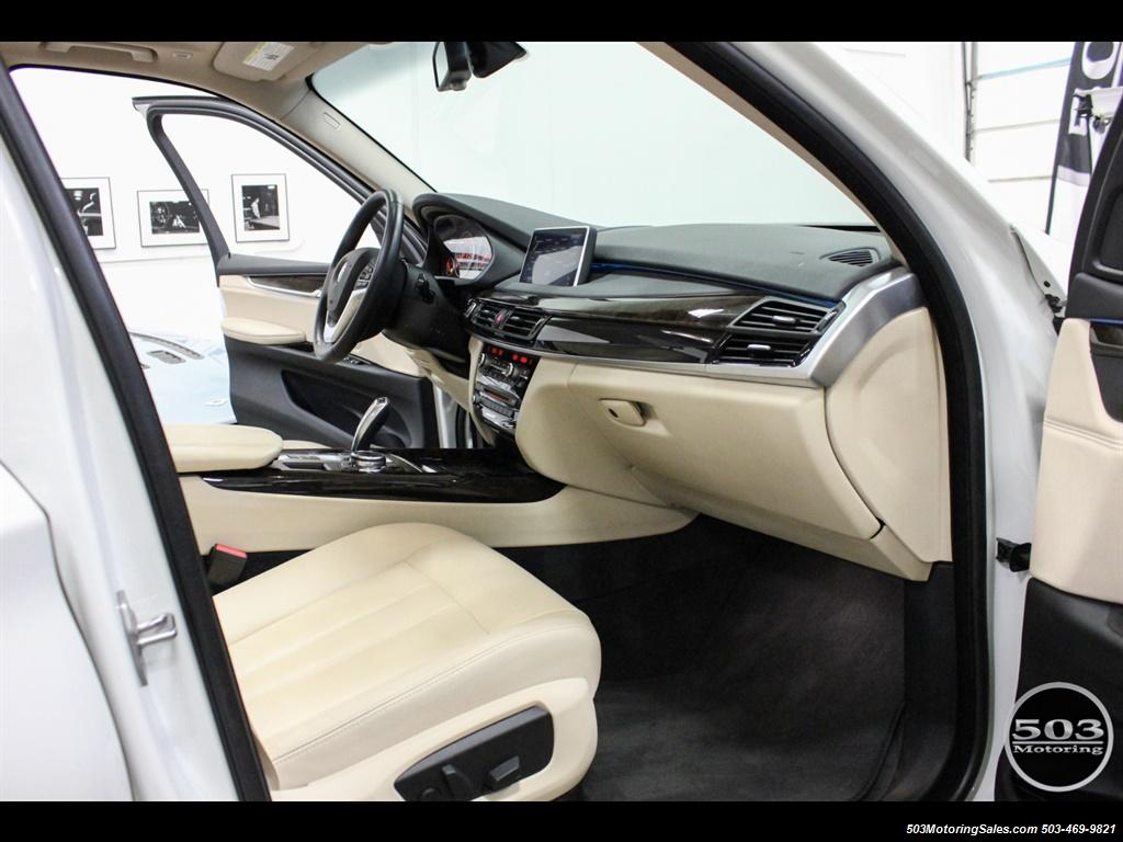 2016 BMW X5 xDrive35i; Alpine White/White Leather w/ Nav! - Photo 33 - Beaverton, OR 97005