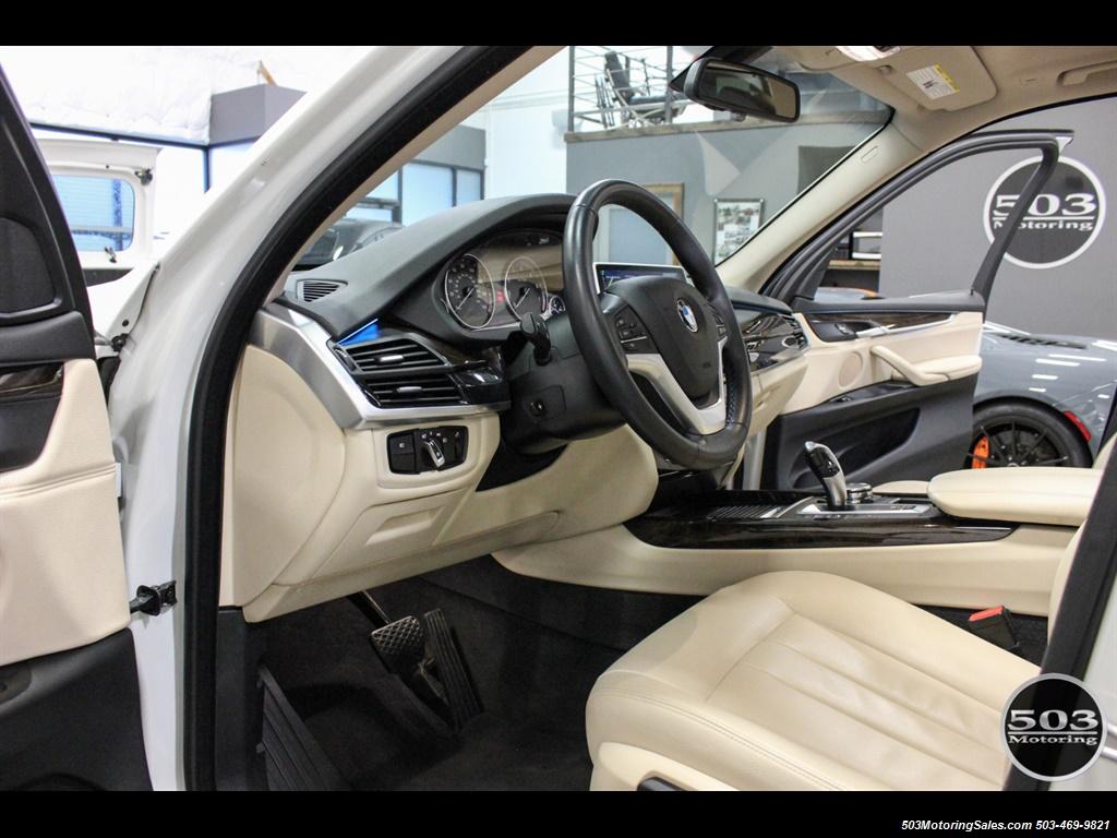 2016 BMW X5 xDrive35i; Alpine White/White Leather w/ Nav! - Photo 24 - Beaverton, OR 97005