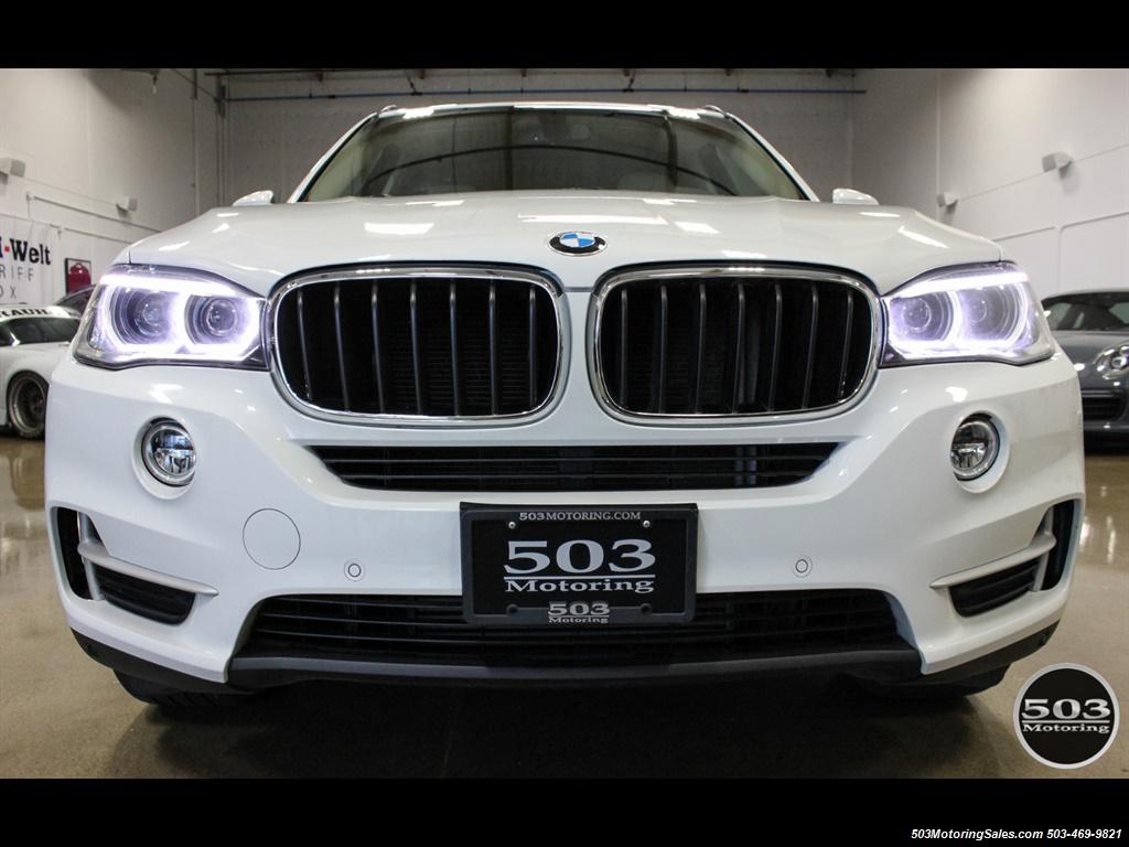 2016 BMW X5 xDrive35i; Alpine White/White Leather w/ Nav! - Photo 8 - Beaverton, OR 97005