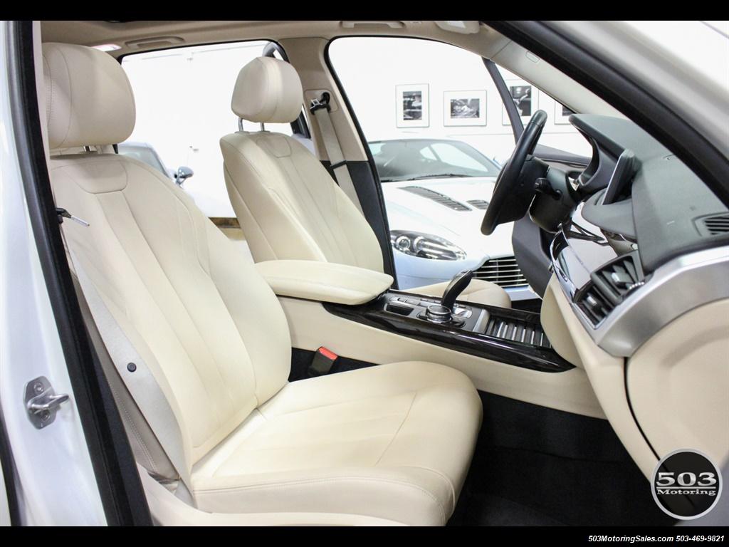2016 BMW X5 xDrive35i; Alpine White/White Leather w/ Nav! - Photo 35 - Beaverton, OR 97005