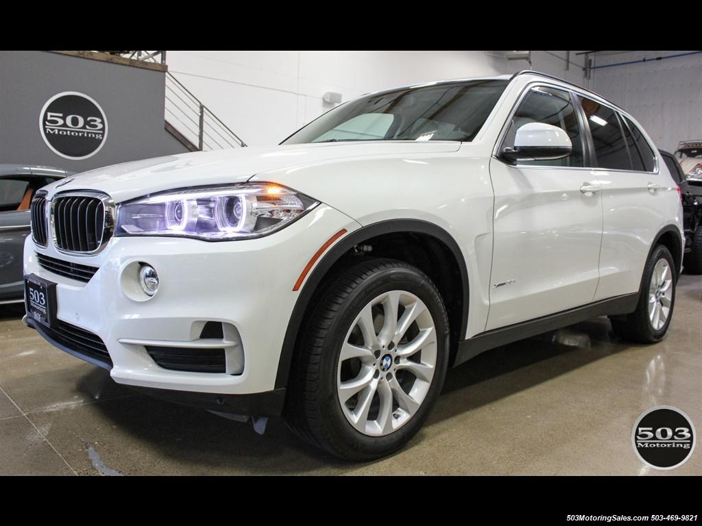 2016 BMW X5 xDrive35i; Alpine White/White Leather w/ Nav! - Photo 1 - Beaverton, OR 97005