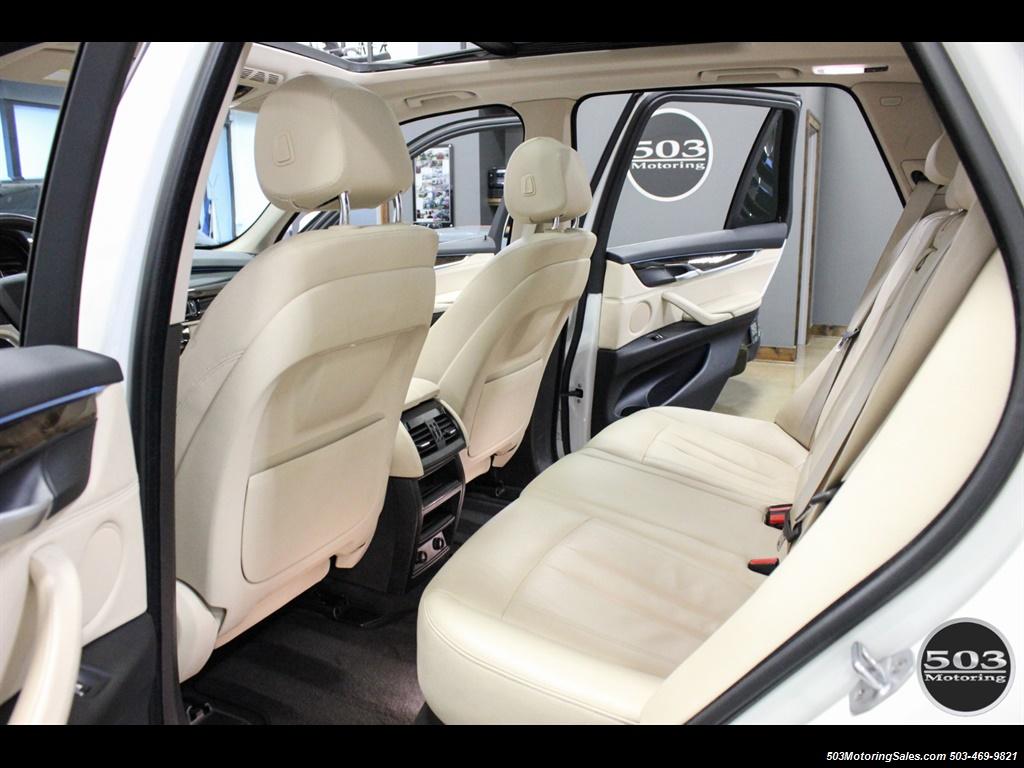 2016 BMW X5 xDrive35i; Alpine White/White Leather w/ Nav! - Photo 37 - Beaverton, OR 97005