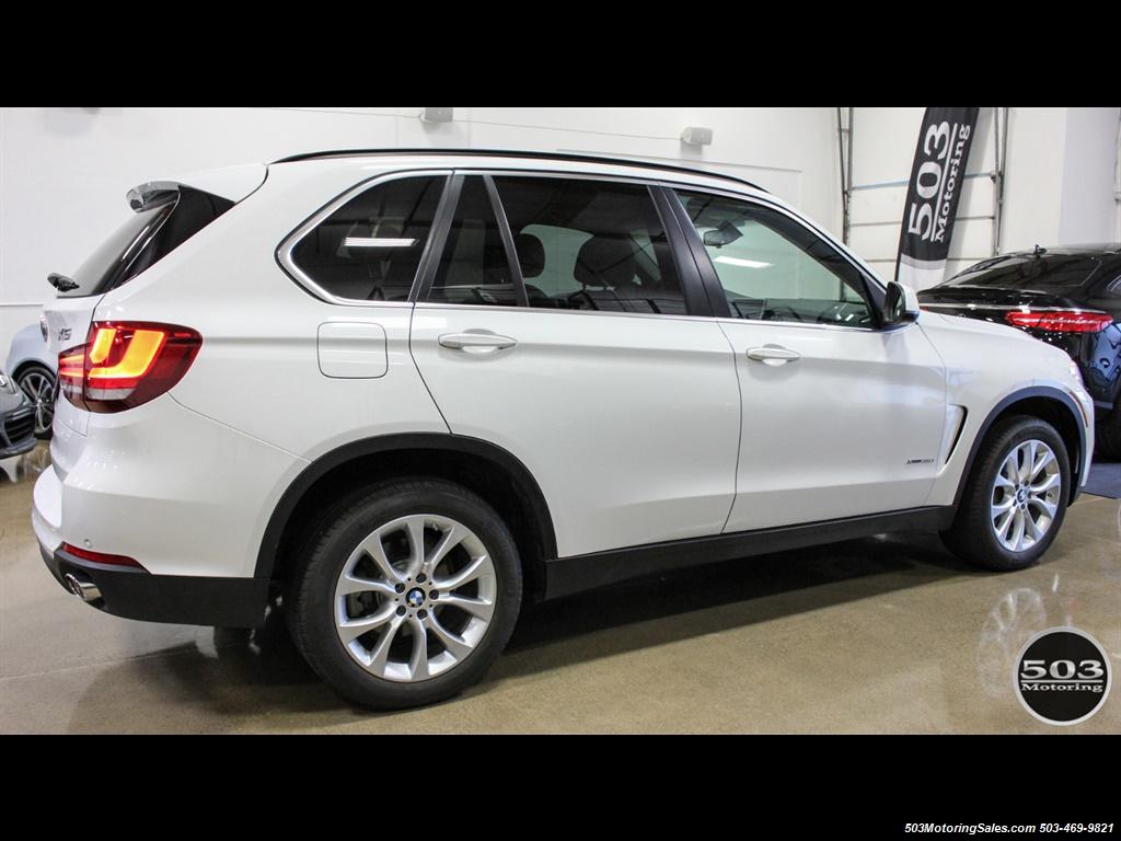 2016 BMW X5 xDrive35i; Alpine White/White Leather w/ Nav! - Photo 6 - Beaverton, OR 97005