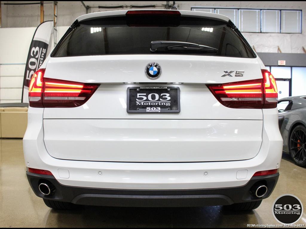 2016 BMW X5 xDrive35i; Alpine White/White Leather w/ Nav! - Photo 4 - Beaverton, OR 97005