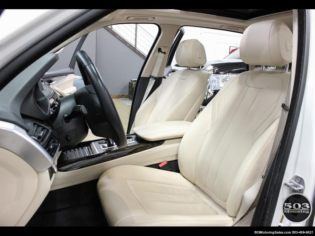 2016 BMW X5 xDrive35i; Alpine White/White Leather w/ Nav! - Photo 27 - Beaverton, OR 97005
