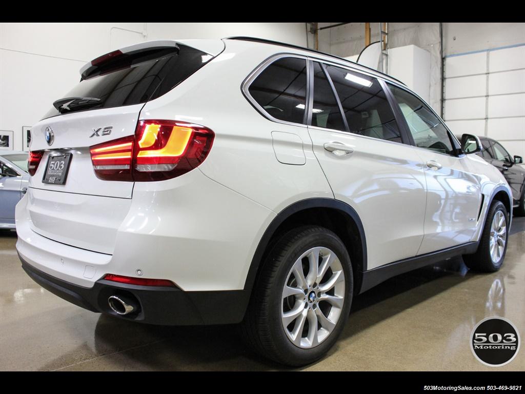 2016 BMW X5 xDrive35i; Alpine White/White Leather w/ Nav! - Photo 5 - Beaverton, OR 97005