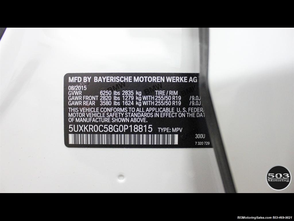 2016 BMW X5 xDrive35i; Alpine White/White Leather w/ Nav! - Photo 52 - Beaverton, OR 97005