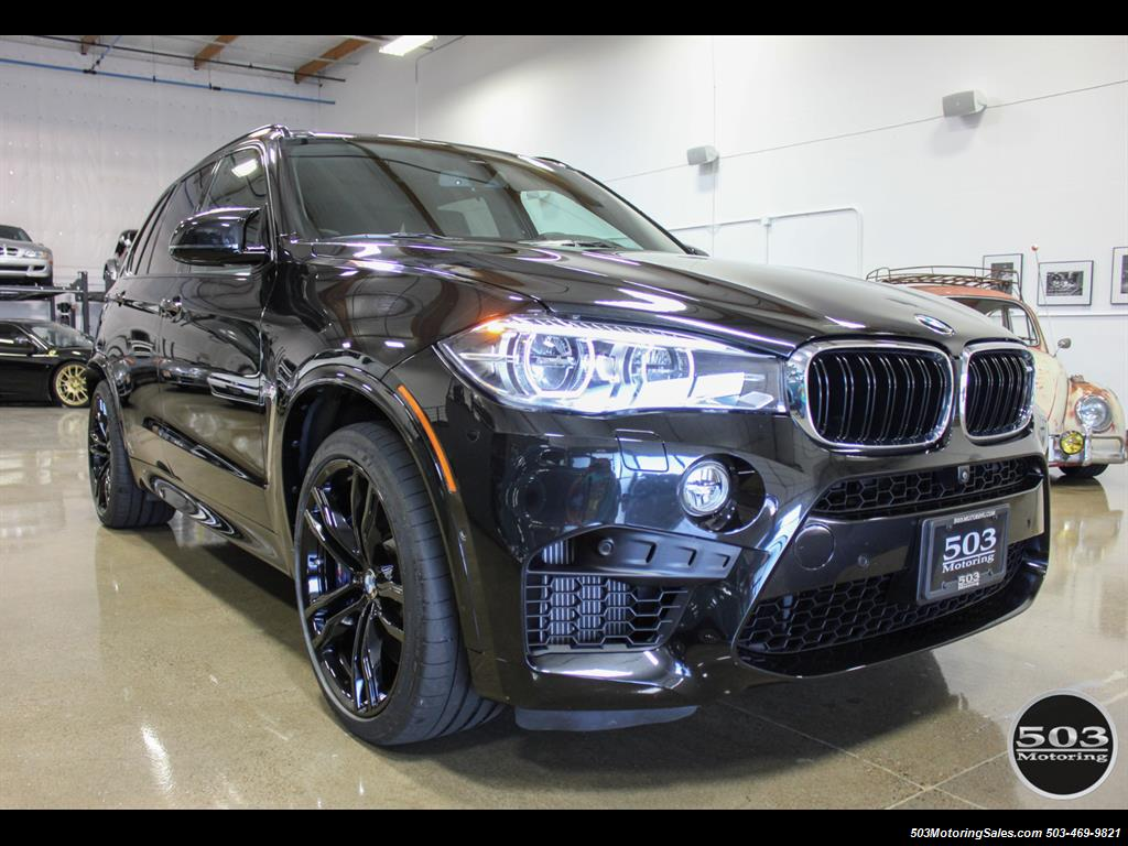 Free Carfax Check >> 2015 BMW X5 M Black/Black One Owner w/ Only 18k Miles!