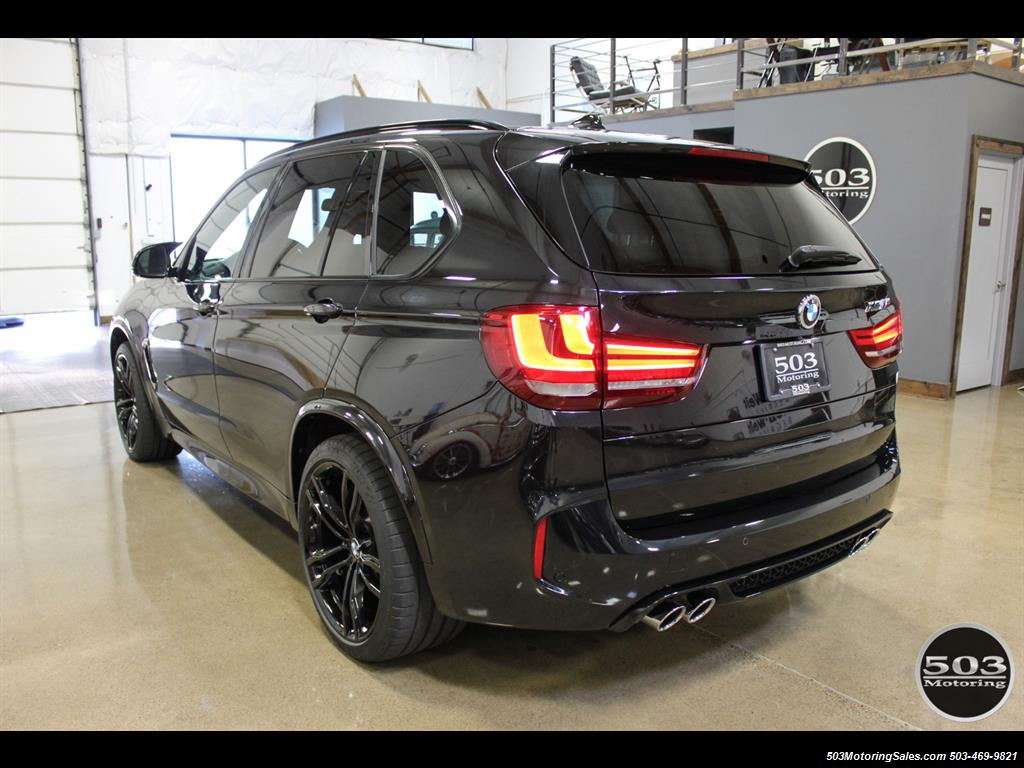 2015 BMW X5 M Black/Black One Owner w/ Only 18k Miles!