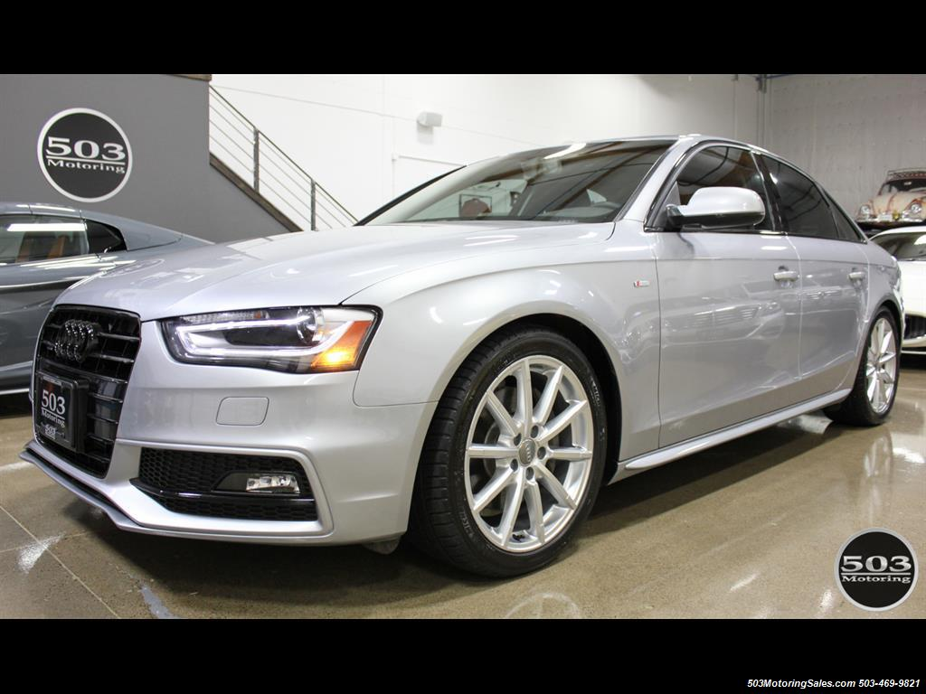 2016 Audi A4 2.0T quattro Premium Plus; Silver/Black APR Tuned! - Photo 1 - Beaverton, OR 97005