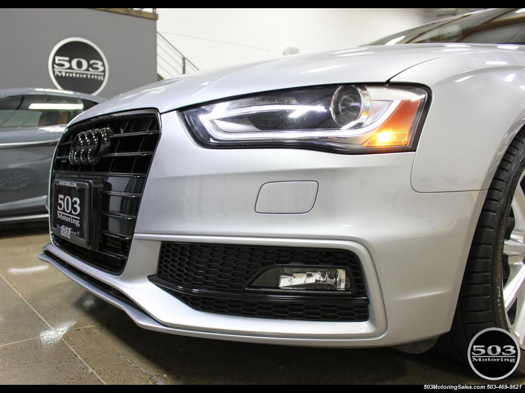 2016 Audi A4 2.0T quattro Premium Plus; Silver/Black APR Tuned! - Photo 9 - Beaverton, OR 97005