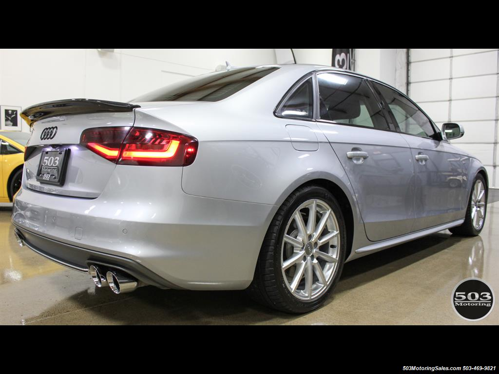 2016 Audi A4 2.0T quattro Premium Plus; Silver/Black APR Tuned! - Photo 5 - Beaverton, OR 97005