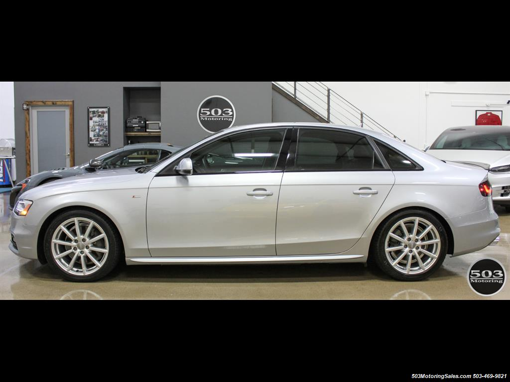 2016 Audi A4 2.0T quattro Premium Plus; Silver/Black APR Tuned! - Photo 2 - Beaverton, OR 97005