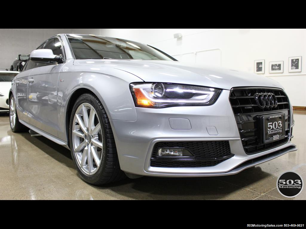 2016 Audi A4 2.0T quattro Premium Plus; Silver/Black APR Tuned! - Photo 7 - Beaverton, OR 97005