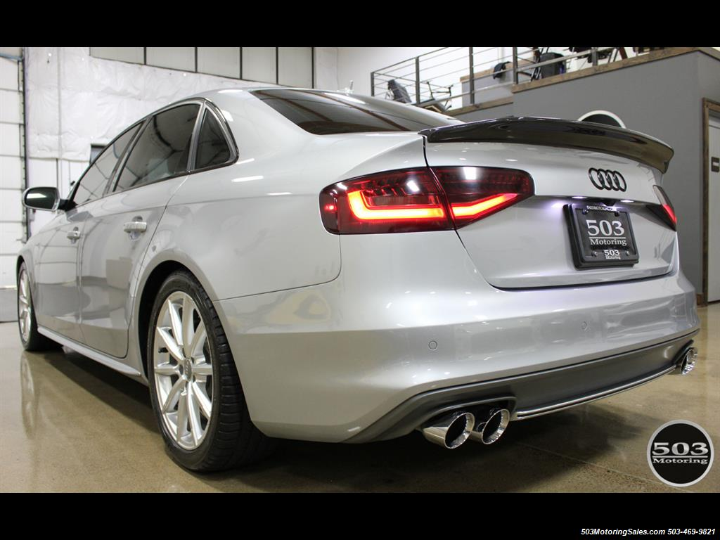 2016 Audi A4 2.0T quattro Premium Plus; Silver/Black APR Tuned! - Photo 3 - Beaverton, OR 97005