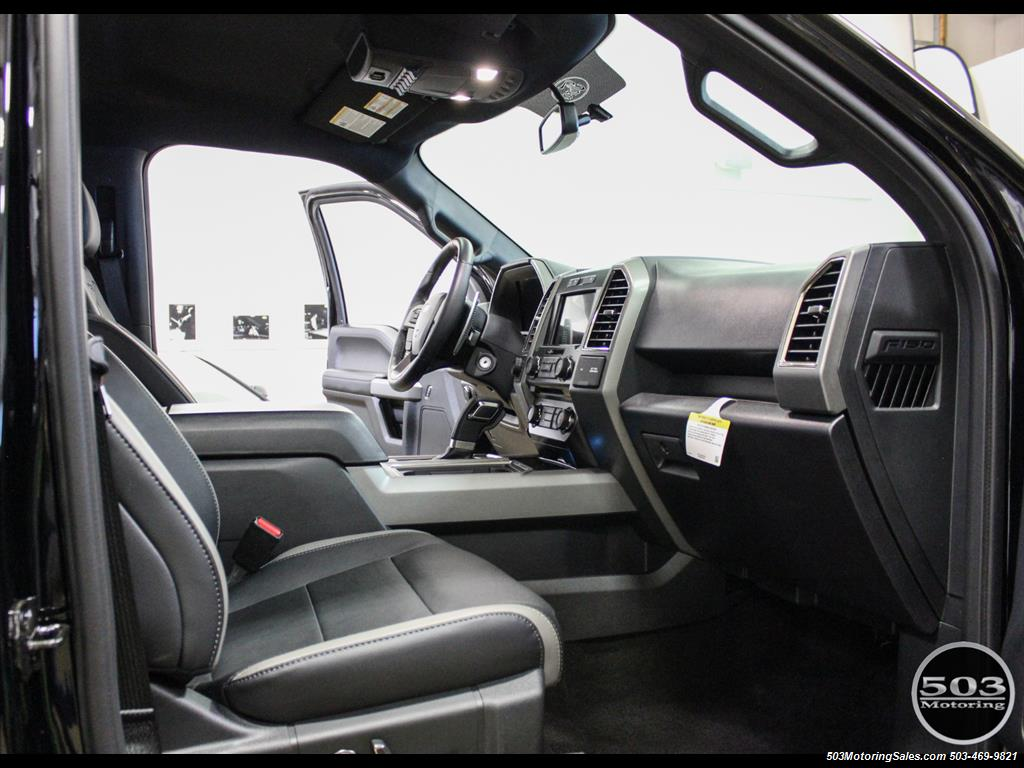 2017 Ford F-150 Raptor; Black/Black, Nav w/ Only 850 Miles! - Photo 41 - Beaverton, OR 97005