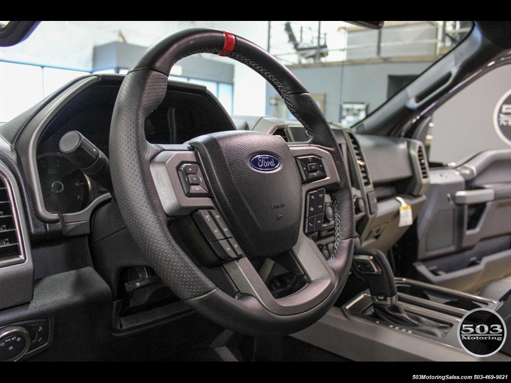 2017 Ford F-150 Raptor; Black/Black, Nav w/ Only 850 Miles! - Photo 28 - Beaverton, OR 97005