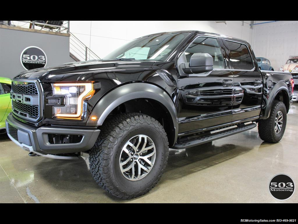2017 ford f 150 raptor black black nav w only 850