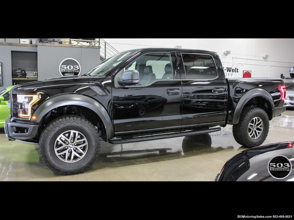 2017 Ford F 150 Raptor Black Nav W Only 850