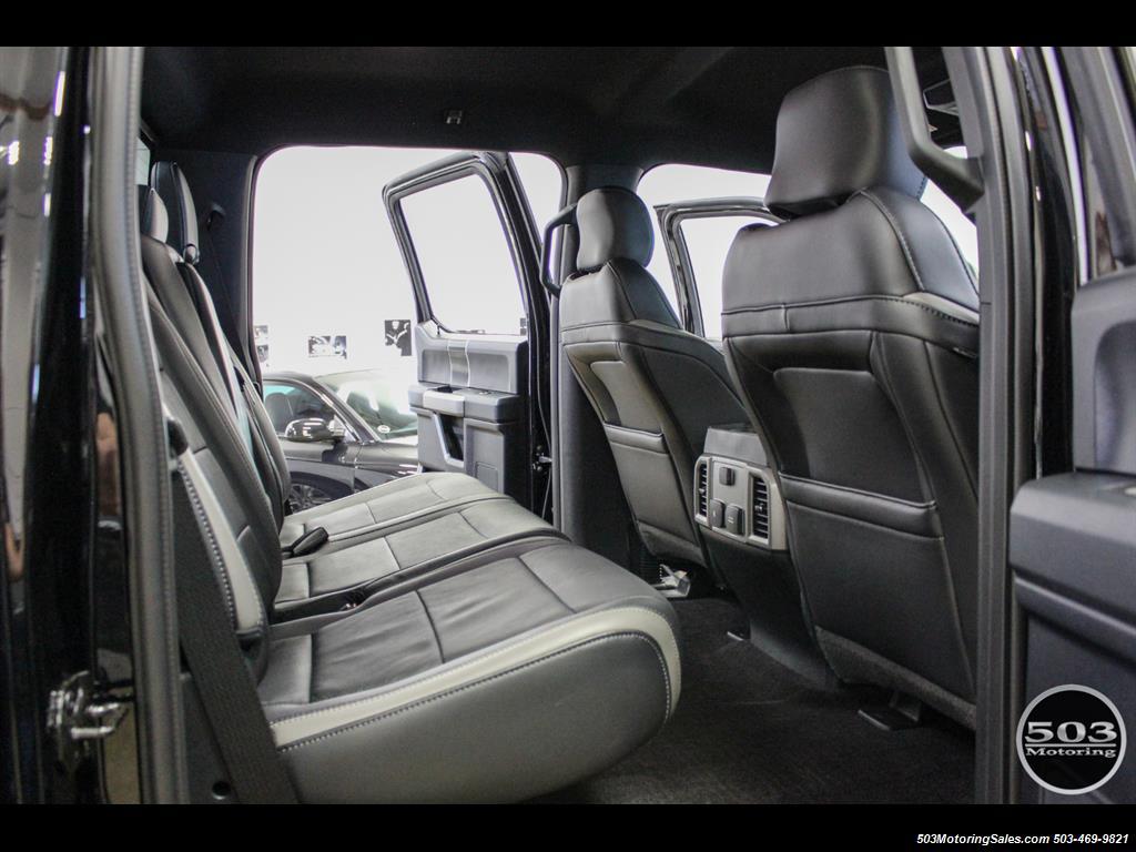 2017 Ford F-150 Raptor; Black/Black, Nav w/ Only 850 Miles! - Photo 45 - Beaverton, OR 97005