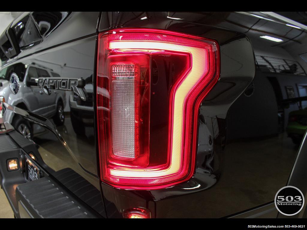 2017 Ford F-150 Raptor; Black/Black, Nav w/ Only 850 Miles! - Photo 17 - Beaverton, OR 97005