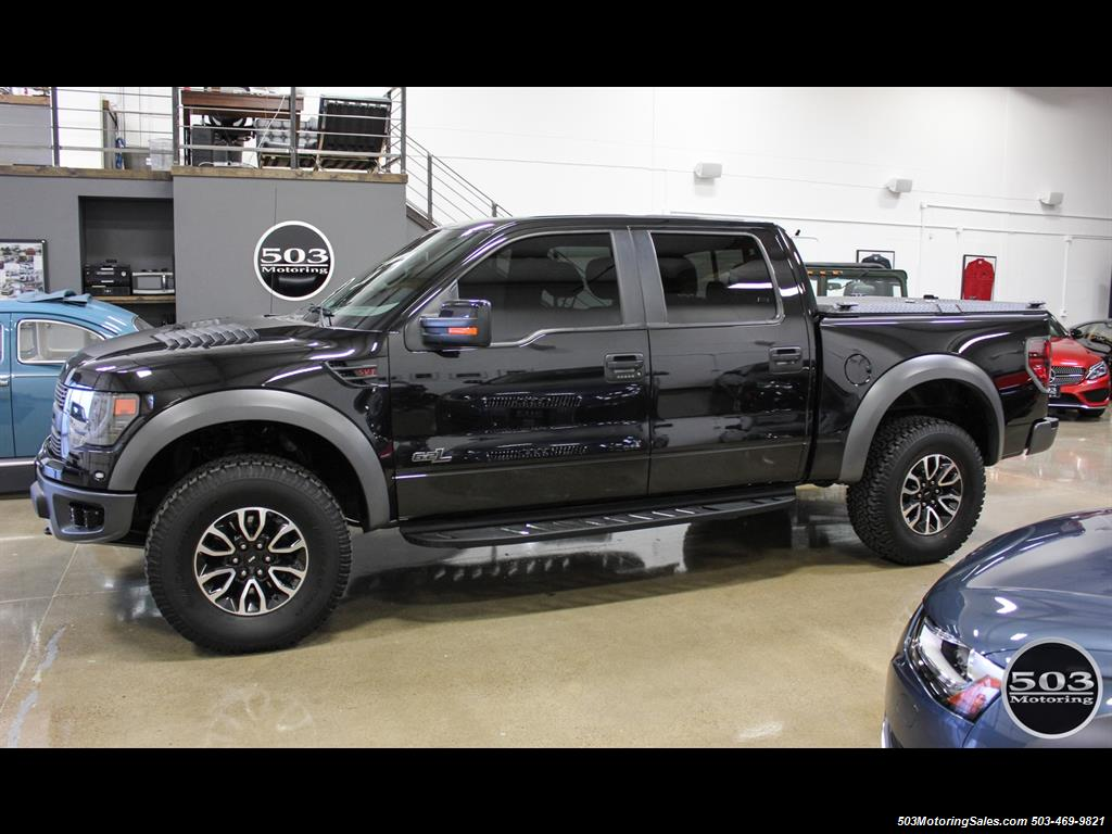 2014 ford f 150 svt raptor black black w only 18k miles