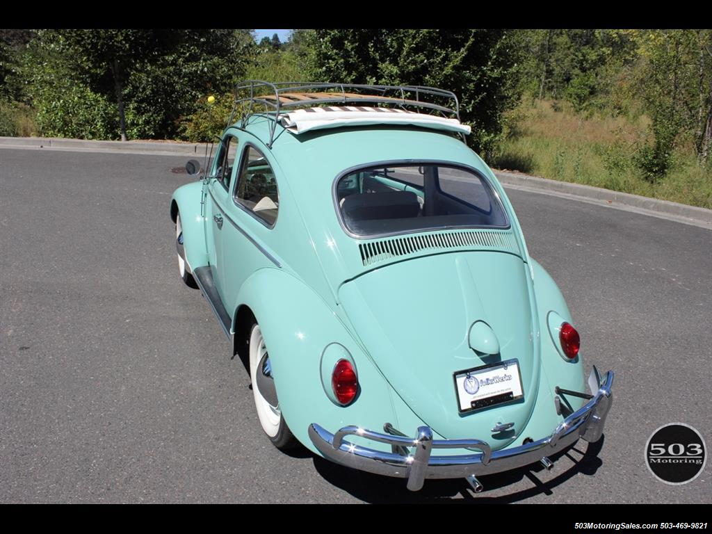 1963 Volkswagen Beetle-Classic Ragtop - Photo 14 - Beaverton, OR 97005