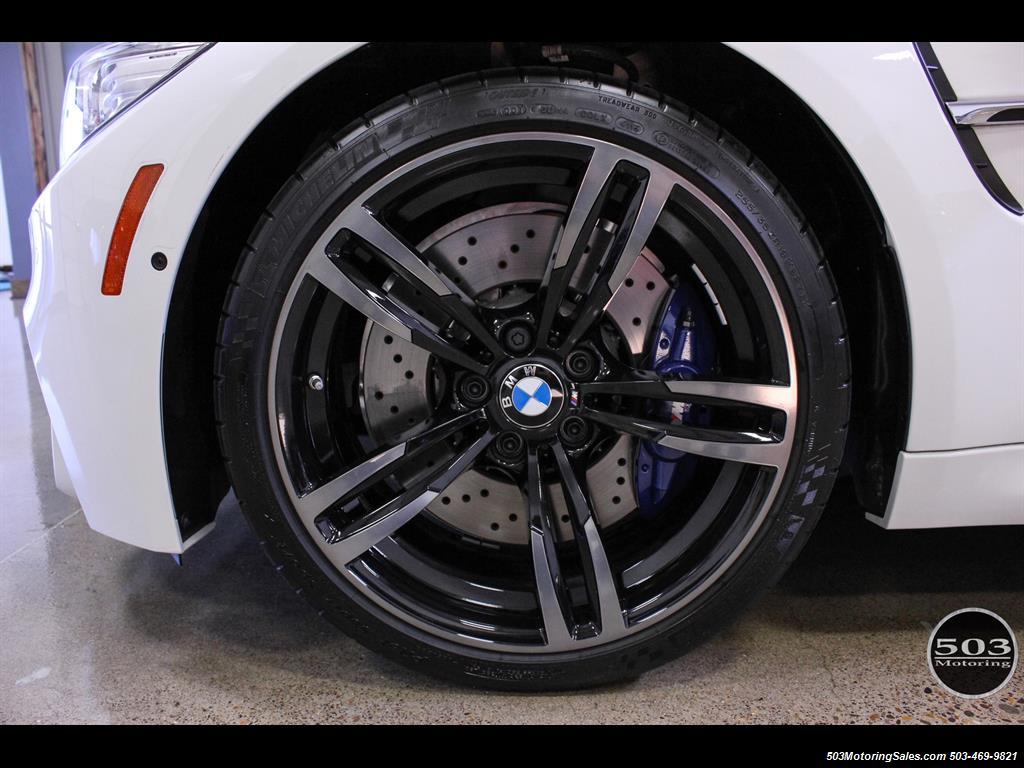 2016 Bmw M3 Like New In Alpine White Black W Only 2 150 Miles