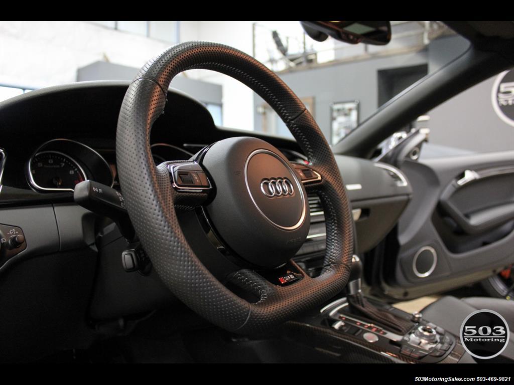 2015 Audi RS 5 4.2 quattro; One Owner w/ 10k Miles! - Photo 29 - Beaverton, OR 97005