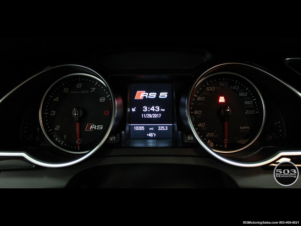 2015 Audi RS 5 4.2 quattro; One Owner w/ 10k Miles! - Photo 30 - Beaverton, OR 97005