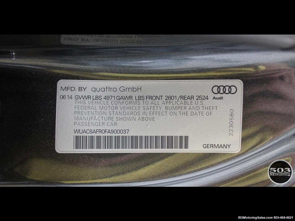 2015 Audi RS 5 4.2 quattro; One Owner w/ 10k Miles! - Photo 60 - Beaverton, OR 97005