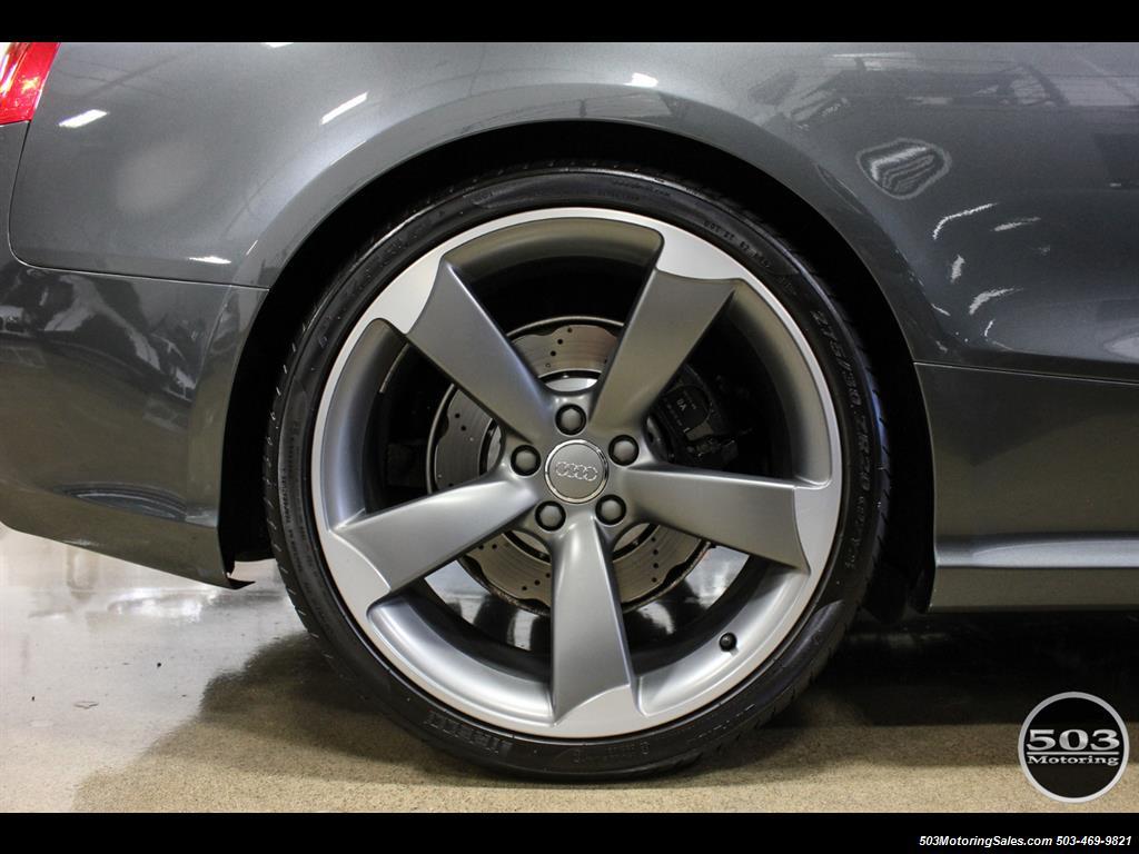 2015 Audi RS 5 4.2 quattro; One Owner w/ 10k Miles! - Photo 22 - Beaverton, OR 97005