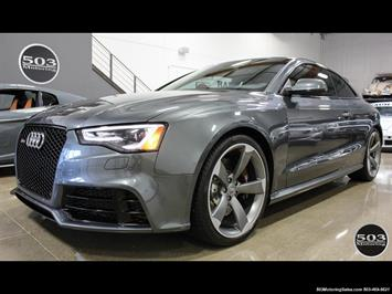 2015 Audi RS 5 4.2 quattro; One Owner w/ 10k Miles! Coupe