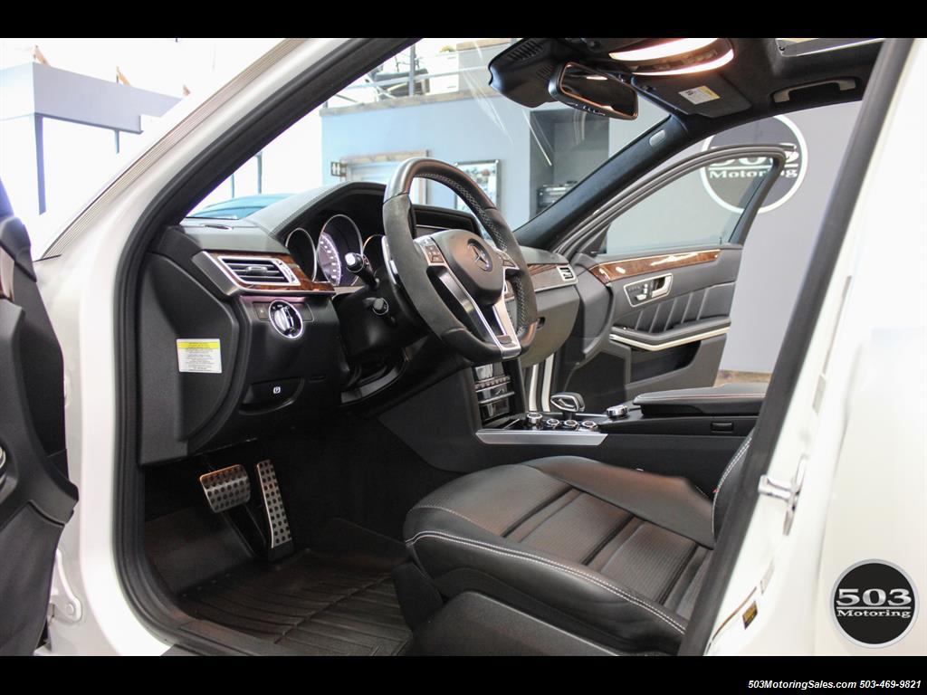 2014 Mercedes-Benz E 63 AMG S-Model Wagon; White/Black w/ 19k Miles! - Photo 24 - Beaverton, OR 97005