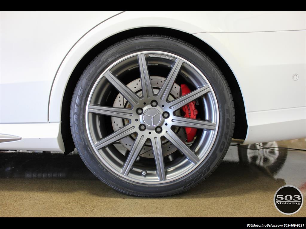 2014 Mercedes-Benz E 63 AMG S-Model Wagon; White/Black w/ 19k Miles! - Photo 21 - Beaverton, OR 97005